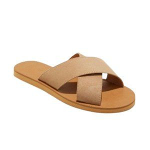Universal Thread Tan Anabeth Sandals 9.5